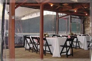 Commercial Restaurant Patio Enclosures Plastic