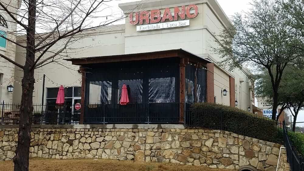 Raleigh Nc Outdoor Restaurant Clear Curtain Enclosures