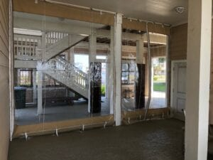 Drop W Pulley Kits Home Clear Patio Enclosures Overlooking Ocean Inside View