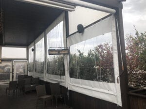 Drop With Pulley Kit Bar Patio Enclosure