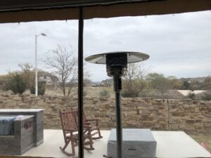 Home Patio Inside Looking Out Slide Enclosure