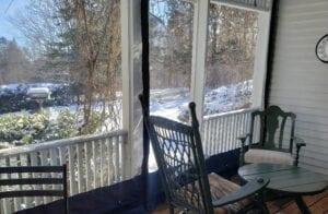 Outdoor Patio Enclosure Residential In Maine