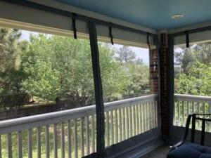 Residential Patio Drop Inside Mount Enclosure