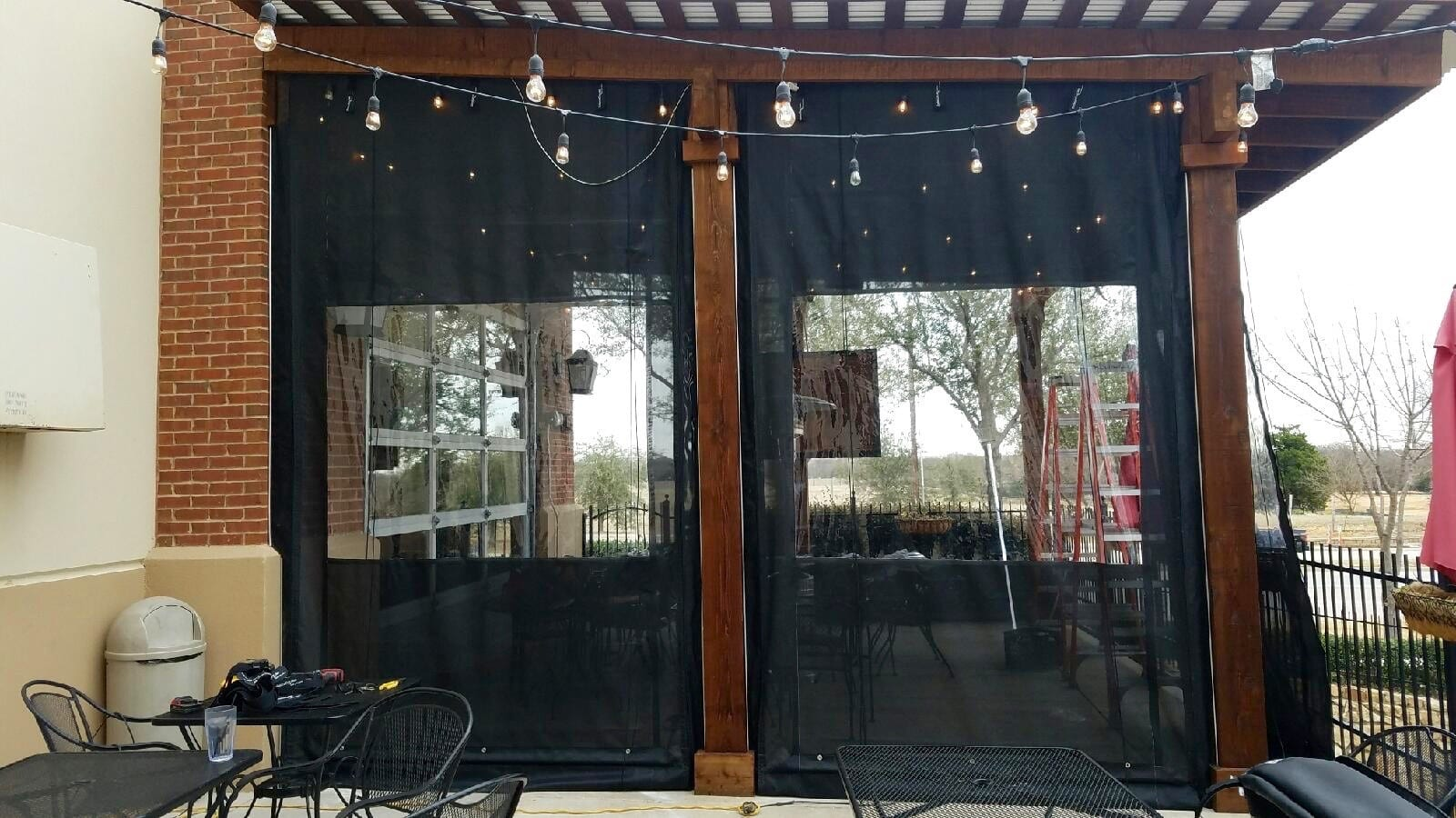 Riverside Ca Clear Patio Curtains Outdoor Plastic Enclosures Drop Shades