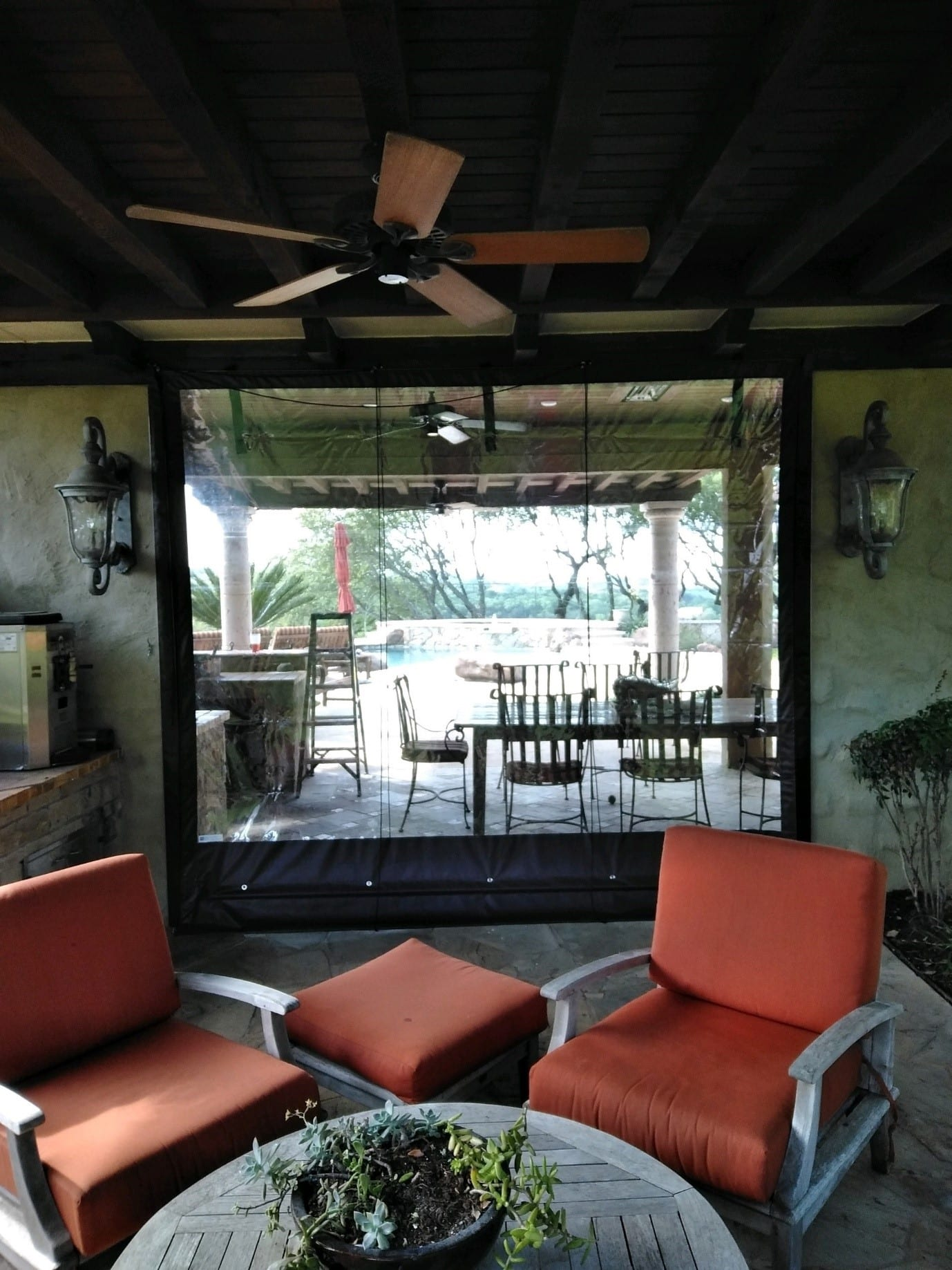 Rochester Business And Residential Clear Plastic Patio Enclosures